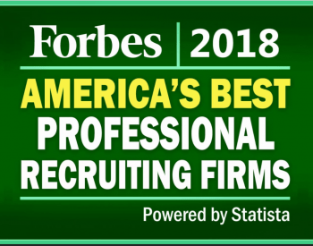 Bowman Williams was chosen by Forbes as one of the 2018 Best Professional Recruiting Firms in America! Forbes 3 350x275